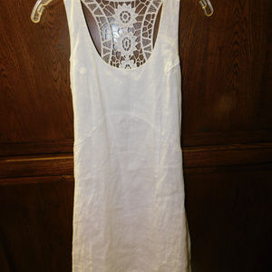 Cynthia Rowley White Lace Dress Size 4